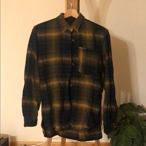 Isabel marant linen wool blend shirt